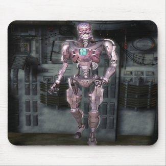 Robot Mousepad Mousemat