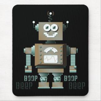 Robot Mousepad (DK) del juguete de la señal sonora Alfombrilla De Ratón