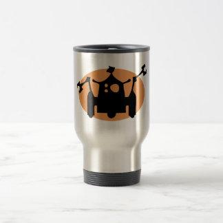 Robot 15 Oz Stainless Steel Travel Mug