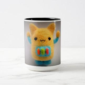 Robot Two-Tone Coffee Mug