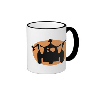 Robot Ringer Coffee Mug