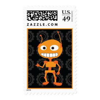 Robot - naranja franqueo