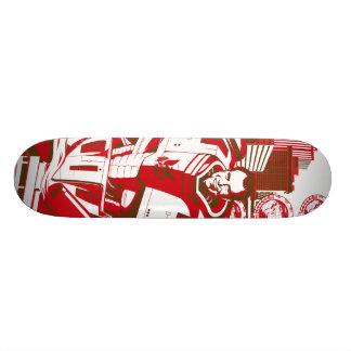 robot nixon custom skate board