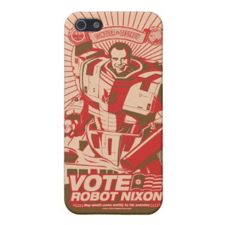 Robot Nixon iPhone 5 Cover