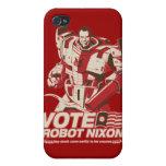 Robot Nixon - todo robot Nixon del saludo iPhone 4/4S Fundas