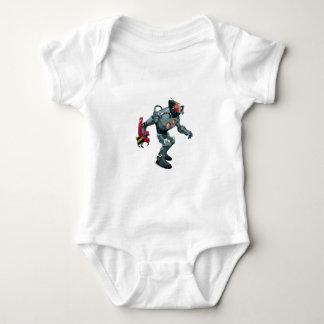 Robot No 7 Baby Bodysuit