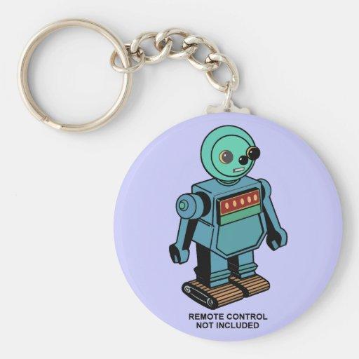 Robot no incluido teledirigido llaveros