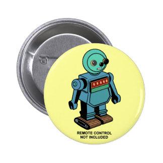 Robot no incluido teledirigido pin redondo 5 cm