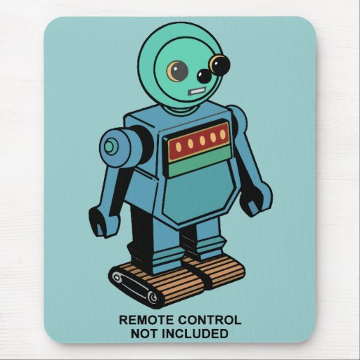 Robot no incluido teledirigido tapete de raton