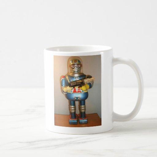 Robot ocho taza de café