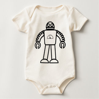 Robot One Baby Bodysuit