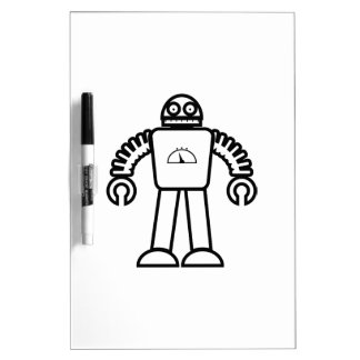 Robot One Dry-Erase Board