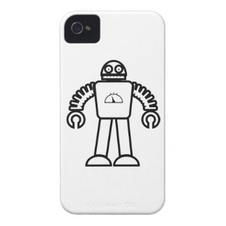 Robot One iPhone 4 Case-Mate Case
