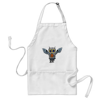 Robot Owl Adult Apron