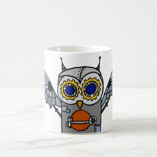 Robot Owl Coffee Mug