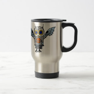 Robot Owl Travel Mug