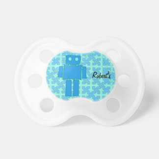 Robot Baby Pacifiers