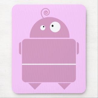 Robot pad mouse pad