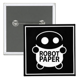 Robot Paper Square Pin