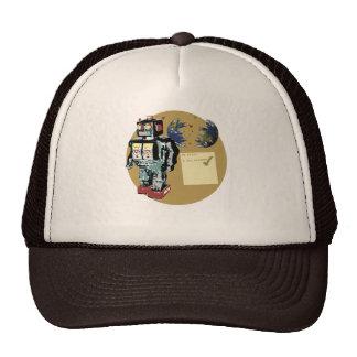 Robot para hacer la lista gorras de camionero