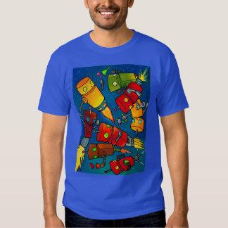 Robot Party 2 T Shirt