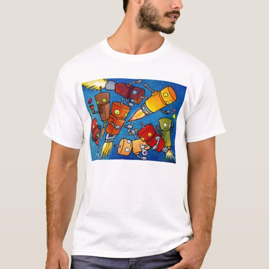 Robot Party 2 T-Shirt