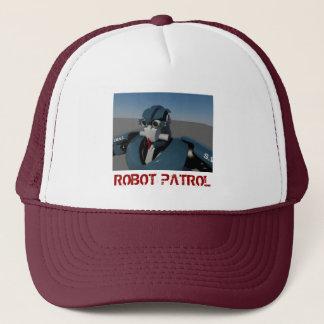 Robot Patrol Mrn Trucker Hat