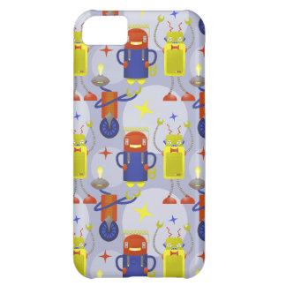 Robot Pattern iPhone 5C Covers