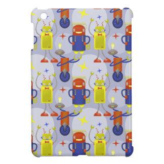 Robot Pattern iPad Mini Cover