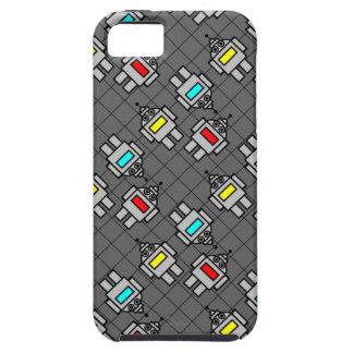 Robot Pattern iPhone 5 Tough Case