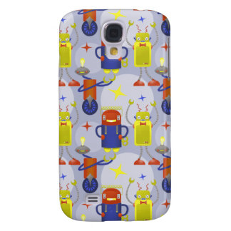 Robot Pattern Samsung S4 Case