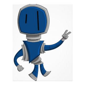 Robot Peace Letterhead