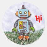 Robot Pegatina