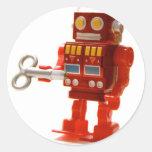 robot pegatinas