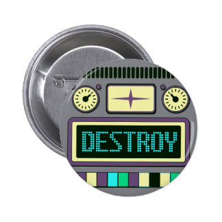 Robot Pinback Button