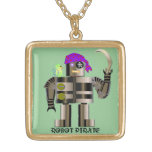 Robot Pirate Necklace
