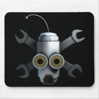Robot Pirates Mouse Pad