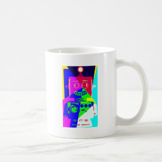 robot png taza de café