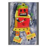 ROBOT POP ART CARDS
