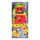 ROBOT POP ART FULL COLOR RACK CARD