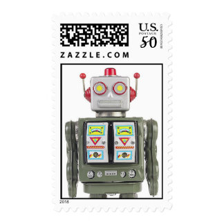 ROBOT Postage Stamp