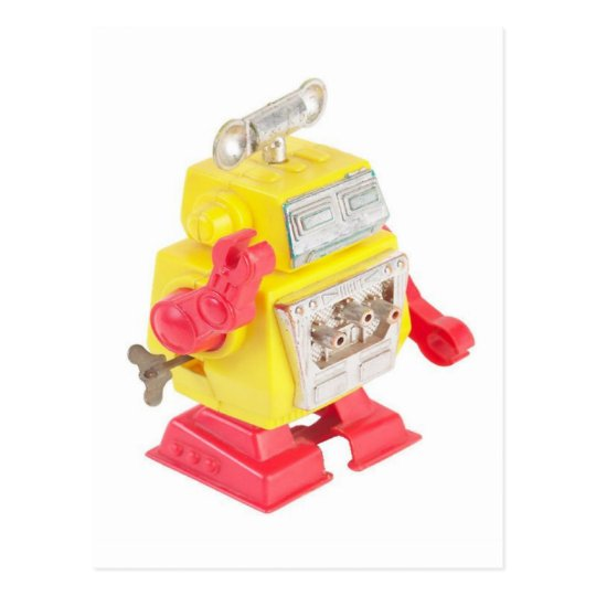 Robot - Postcard