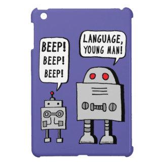 Robot que emite un sonido breve y agudo