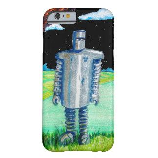 ROBOT QUE ESPERA FUNDA BARELY THERE iPhone 6