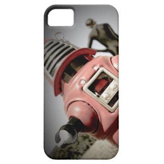 Robot retro 04 de Robby del juguete iPhone 5 Fundas