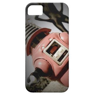 Robot retro 05 de Robby del juguete iPhone 5 Case-Mate Fundas