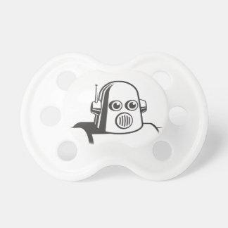 Robot retro chupete de bebe