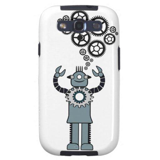 Robot retro - negociaciones en la galaxia s3 de St Galaxy S3 Protector