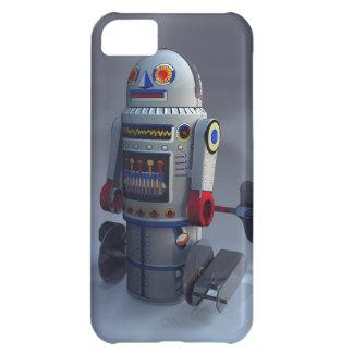 Robot retro número 7 del juguete