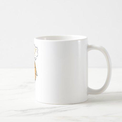Robot retro taza